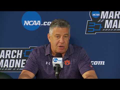 Auburn basketball's press conference before second round of NCAA Tournament against Clemson