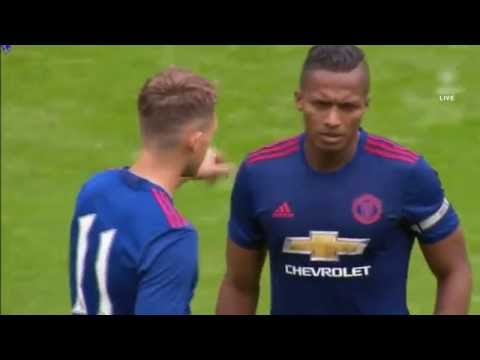 Adnan Januzaj vs Wigan Athletic 16/07/16 HD