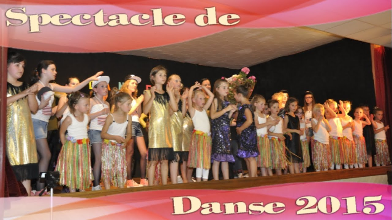 Spectacle de danse 2015 - Familles Rurales St Pierre des Nids