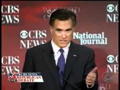 Romney On Foreign Aid To Israel And Other Countries: Start
