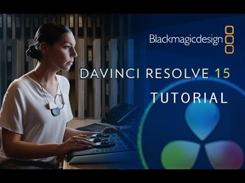 DaVinci Resolve 15 - Tutorial for Beginners COMPLETE - 16 MINUTES