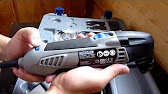 Dremel Multi-Max oscillating tool review - YouTube