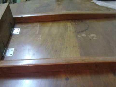 RESTORATION OF BIEDERMEIER TABLE Www.ateliertorzo.hr