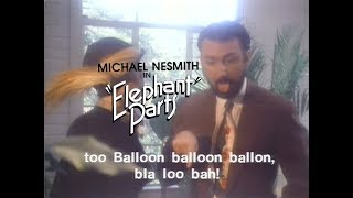 Silly pla la! Michael Nesmith plays the slick-haired, smoldering le...
