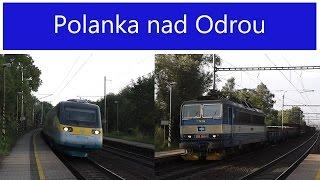 Vlaky - Polanka nad Odrou - 9. a 19.7.2015