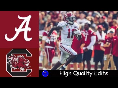 #2 Alabama vs South Carolina Highlights | NCAAF Week 3 | Col