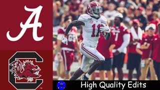#2 Alabama vs South Carolina Highlights | NCAAF Week 3 | College Football Highlights