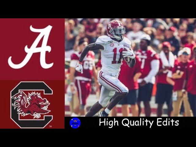 #2 Alabama vs South Carolina Highlights   NCAAF Week 3   College Football Highlights