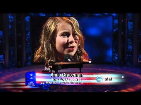 Anna Graceman - America's Got Talent, What a Wonderful World - 1/4 Finals