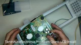 How to Install & Repair 2004-2006 Nissan Quest Premium LCD Screen with High-Bond Ribbon Cable | TAE