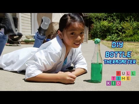 How to Make a Bottle Thermometer | Full-Time Kid | PBS Parents