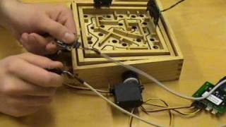 Ubiquitous Computing - Interactive Wooden Labyrinth Game With Accelerometers