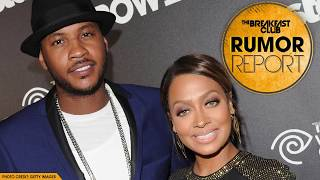 Carmelo Attempts To Win Back La La Anthony During NYFW