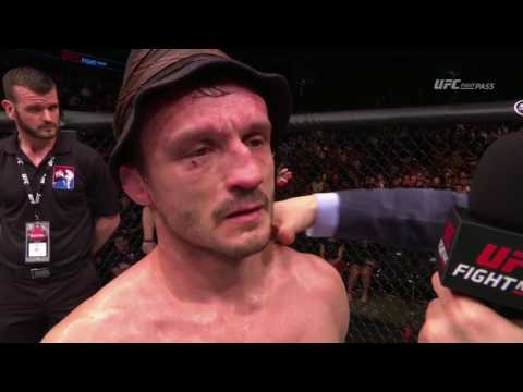 Fight Night London: Marlon Vera and Brad Pickett Octagon Interviews