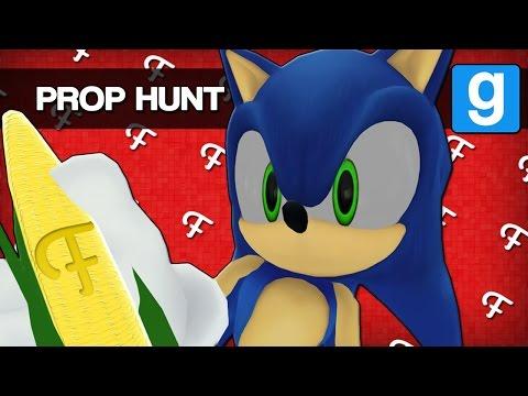Gmod: Cornfield & Axes! (Garry's Mod Prop Hunt - Comedy Gaming)