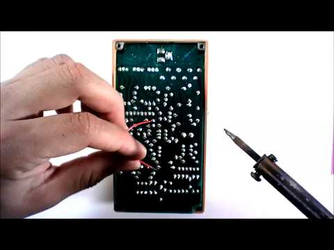 Boss DS-1 Modding Tutorial Octave Fuzz Under 2 Minutes