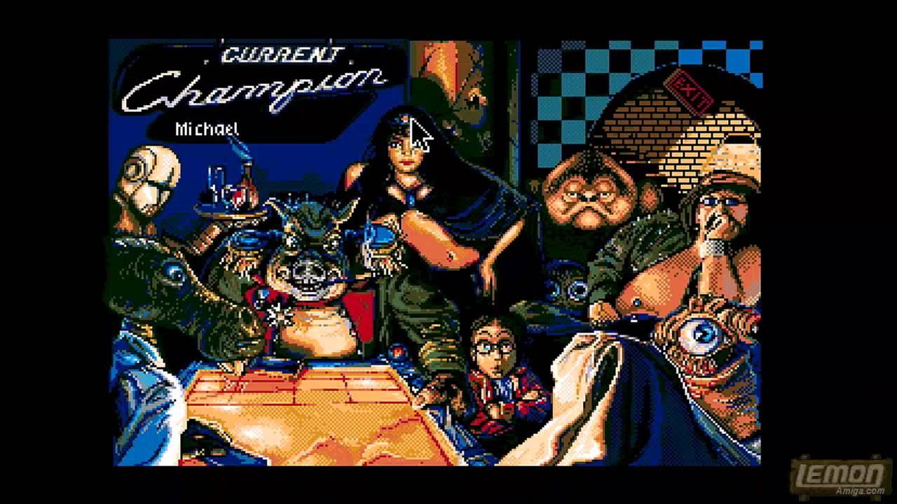 Shufflepuck Cafe (Amiga) - A Playguide and Review - by LemonAmiga com