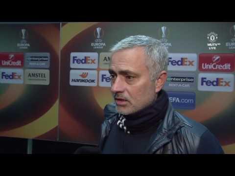 Jose Mourinho & Henrikh Mkhitaryan's Post Match Interview  Manchester United 1 1 FC Rostov