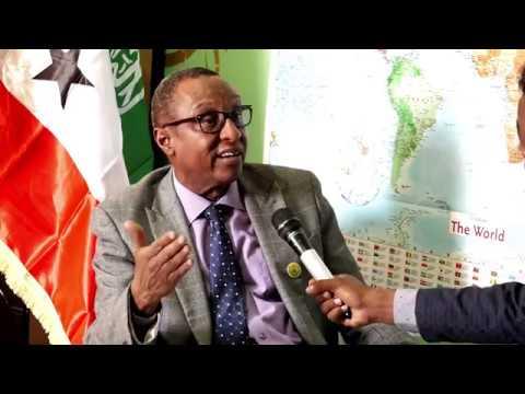 Waraysi:  Guddoomiyaha Hay'adda Qurba-joogga Somaliland.
