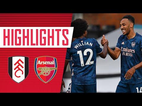 HIGHLIGHTS | Fulham vs Arsenal (0-3) | Willian, Gabriel impress on debuts