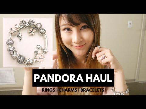First Pandora Haul 2016 | Charms | Bracelets | Bangles | Rings | Cherry Tung