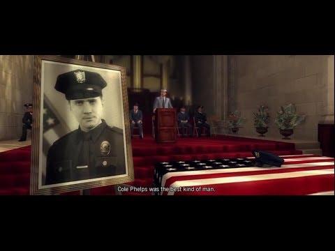 L.A. Noire Stories: Cole Phelps Death & Funeral. The Ending.