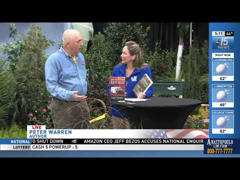 Amanda Live with author Peter Warren at Spring Home Show - WPDE ABC 15