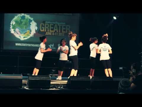 Syndal Ladies Aerobics B1 - State Youth Games 2012