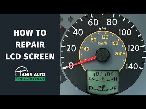 Fix 2004-2006 Nissan Quest Instrument Cluster Display & LCD Screen Install By Tanin Auto Electronix