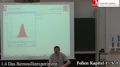 1 4 Das Bernoullieexperiment
