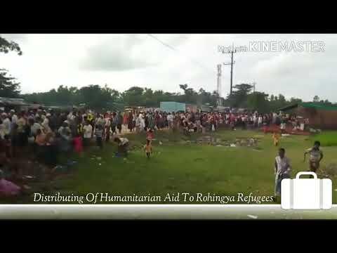 Humanitarian Aid To Rohingya Refugees