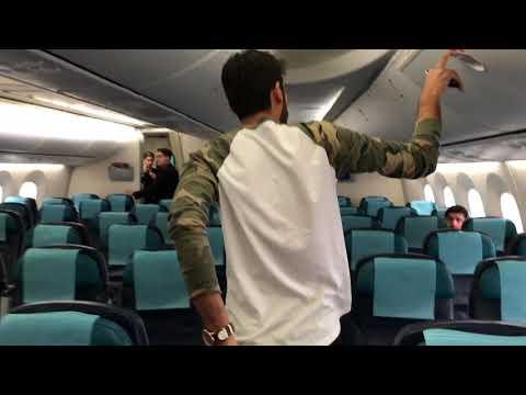 Azerbaijan airline boeing 787-800 Baku | Dubai