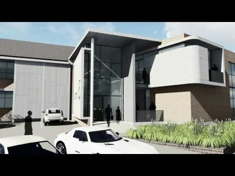 Proposed office building in Tijger Valley office park, Pretoria