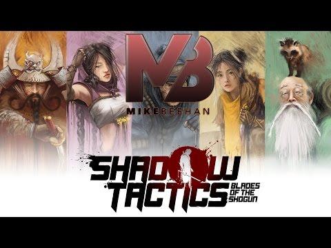 Shadow Tactics: Blades of the Shogun Gameplay [Part 1] Castle Break-in |