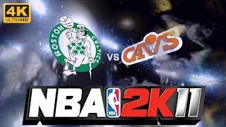 1992 Boston Celtics vs. Cleveland Cavs | NBA 2K11 | 4K PC Gameplay