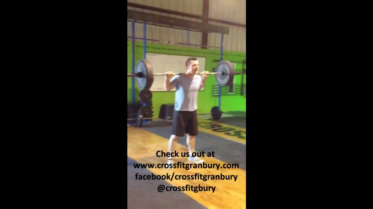 Rich Froning Moby Challenge Crossfit Granbury Squats To