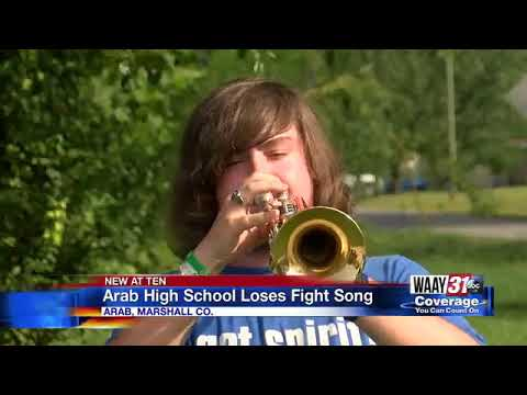 Arab High School loses fight song