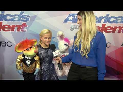 Darci Lynne Brings Her Puppet Friends To AGT Red Carpet After Finale Performance