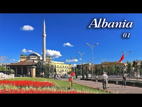 Albania 01 (Tirana - Et'hem Bey Mosque) - travel