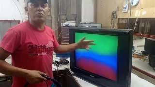 como desmagnetiza Tv Semp tv2934 Tubo magnetizado