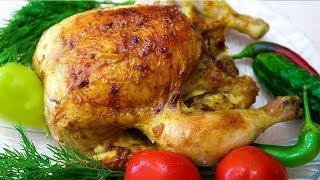 Курица в духовке рецепт в фольге