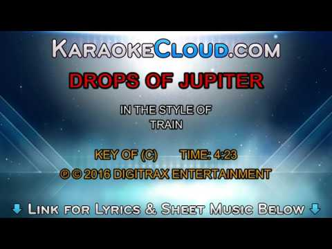 Train Drops Of Jupiter Backing Track Youtube
