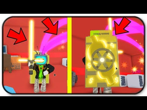 All Gold items! Backpack, Lightsaber And Admin Gaming Customers - Roblox Cash Grab Simulator