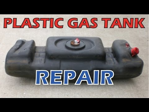 Car Atv Motorcycle Plastic Gas Tank Fix Repair Leak Youtube