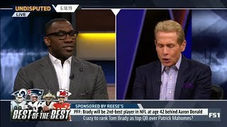 UNDISPUTED | Skip & Shannon IMPRESSED by Brady will be 2nd-best player in NFL at age 42