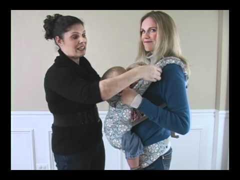 Baby Gizmo Petunia Pickle Bottom ERGObaby Review - YouTube