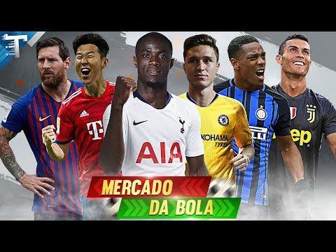 MERCADO DA BOLA l MESSI E CR7 JUNTOS NA MLS, BAILLY E MARTIAL FORA DO UNITED, BAYERN QUER SON