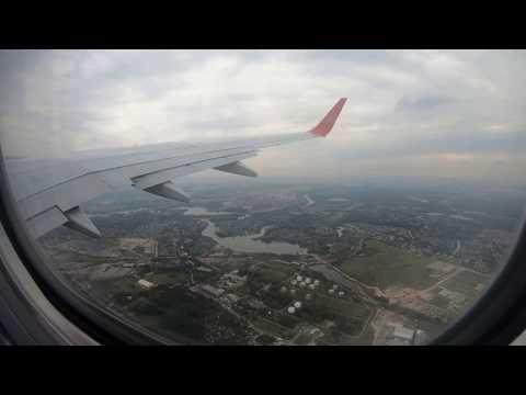Перелет полностью Москва - Санкт-Петербург на Boeing 737 Аэрофлот [4K Ultra HD]
