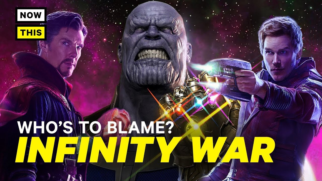 Who's to Blame for the Infinity War Ending? (SPOILERS) | NowThis Nerd