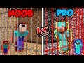 Minecraft NOOB vs. PRO: PRISON ESCAPE 3 in Minecraft!